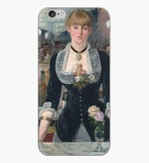 Edouard Manet - Eine Bar im Folies-Bergère iPhone-Hülle & Cover