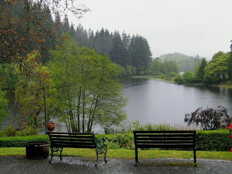 Scottish Loch by John  Simmons