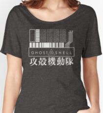 GHOST IN THE SHELL - with Japanese Women's Relaxed Fit T-Shirt