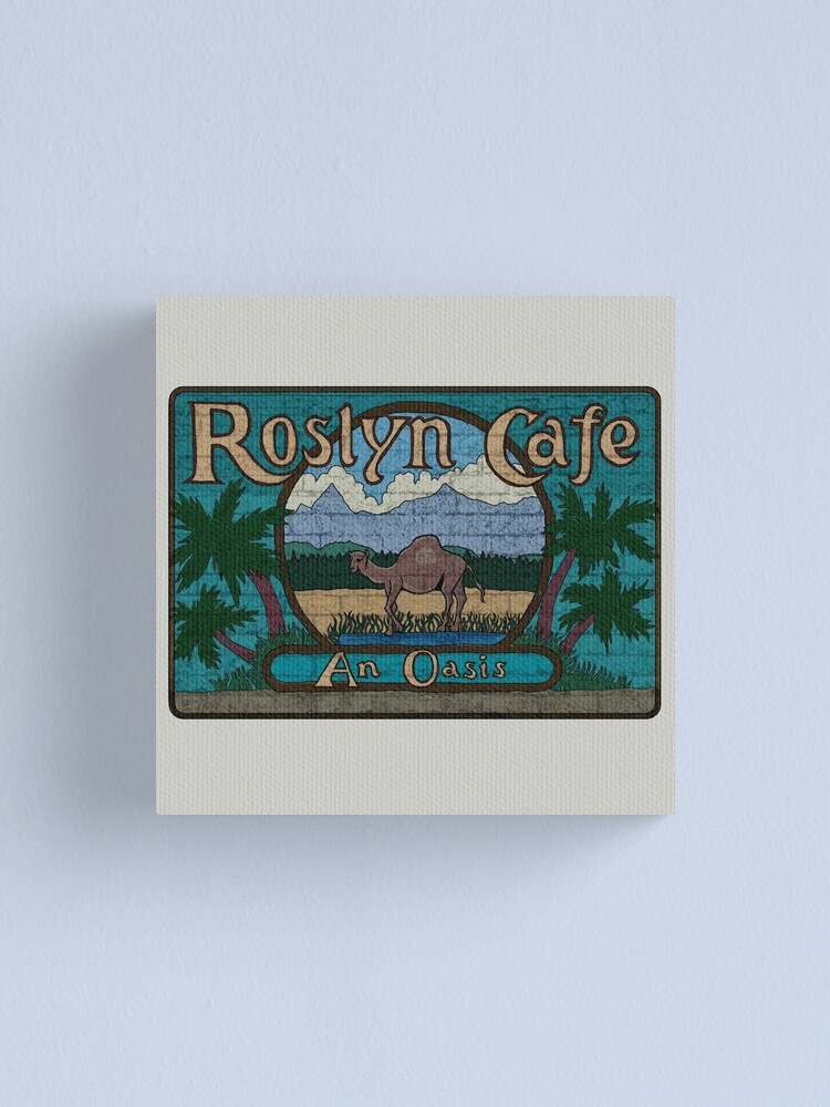 Alternate view of Rosyln Cafe - An Oasis : Inspired by Northern Exposure Canvas Print