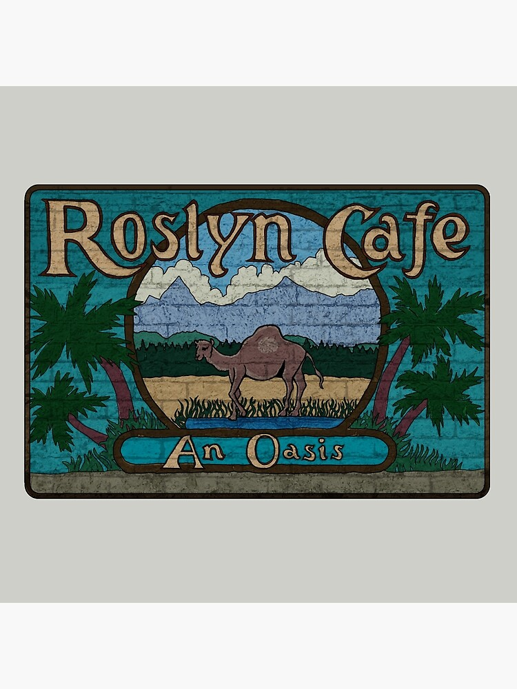 Rosyln Cafe - An Oasis : Inspired by Northern Exposure by WonkyRobot