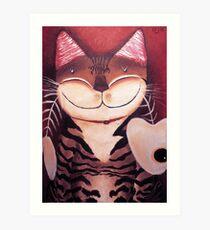 Catmasutra - Portrait of a Cat Art Print