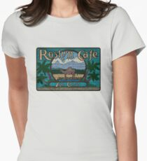 Rosyln Cafe - An Oasis : Inspired by Northern Exposure Women's Fitted T-Shirt
