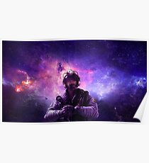 Galaxy Jackal Poster