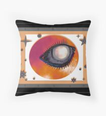 Eye of the Sun Throw Pillow