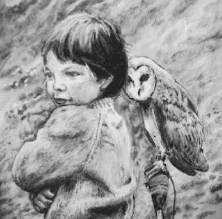 the  boy and the owl by terryjohn2