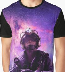 Galaxy Jackal Graphic T-Shirt