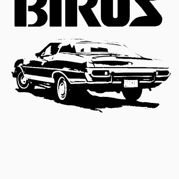 gran torino with birus logo by birus