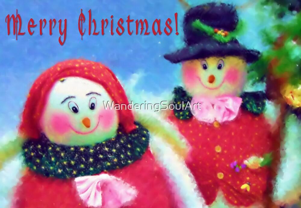 Christmas Card 1 by WanderingSoulArt