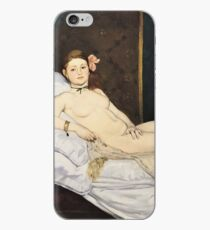 Edouard Manet - Olympia iPhone-Hülle & Cover