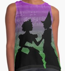 Wicked The Musical For Good Score Contrast Tank