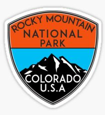 ROCKY MOUNTAIN NATIONAL PARK COLORADO LAKE HIKE CLIMBING CAMPING 2 Sticker