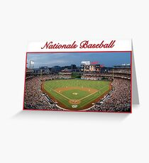Nationals Baseball Greeting Card