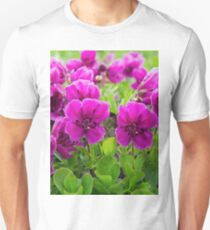 Beauty purple flowers Rhododendron camtschaticum Unisex T-Shirt
