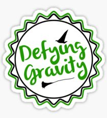 Wicked Defying Gravity Sticker