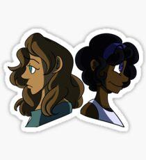 Nymphs Sticker