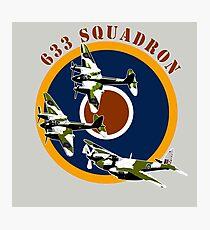 633 Squadron Photographic Print