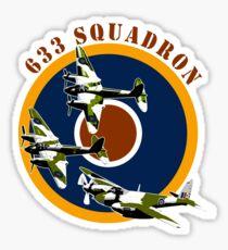 633 Squadron Sticker