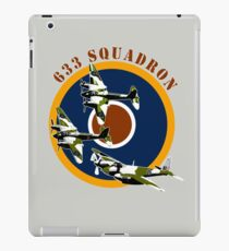 633 Squadron iPad Case/Skin