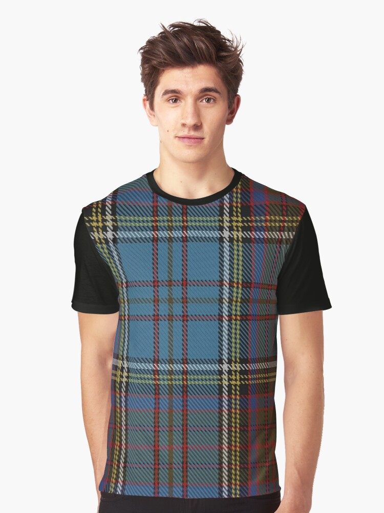 Anderson (Paton) Family/Clan Tartan  Graphic T-Shirt Front