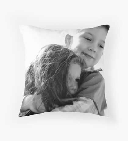 Big brother... Throw Pillow