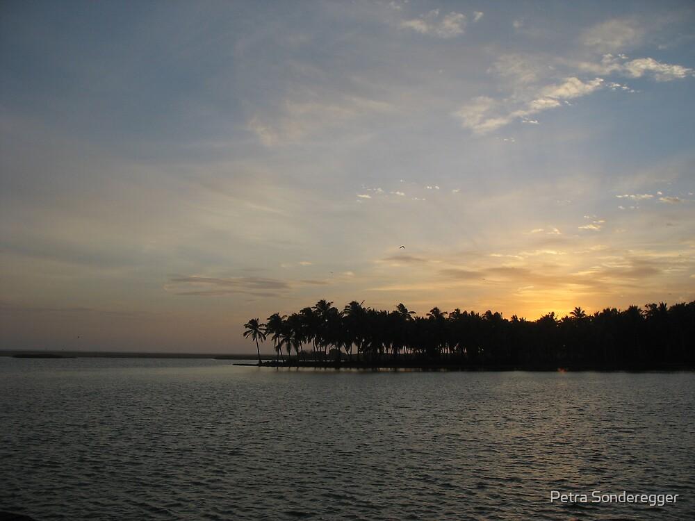 Tropical Sunset by Petra Sonderegger