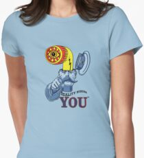 Reality Needs You...V2 Womens Fitted T-Shirt