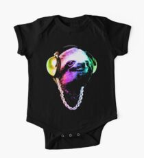 Sloth (Rainbow B-Boy Style) Kids Clothes