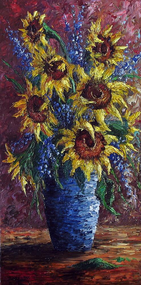 Sunflower Bouquet by dgpaul