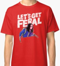 Laura gets feral Classic T-Shirt