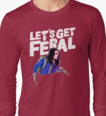 Laura gets feral Long Sleeve T-Shirt