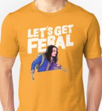 Laura gets feral Unisex T-Shirt