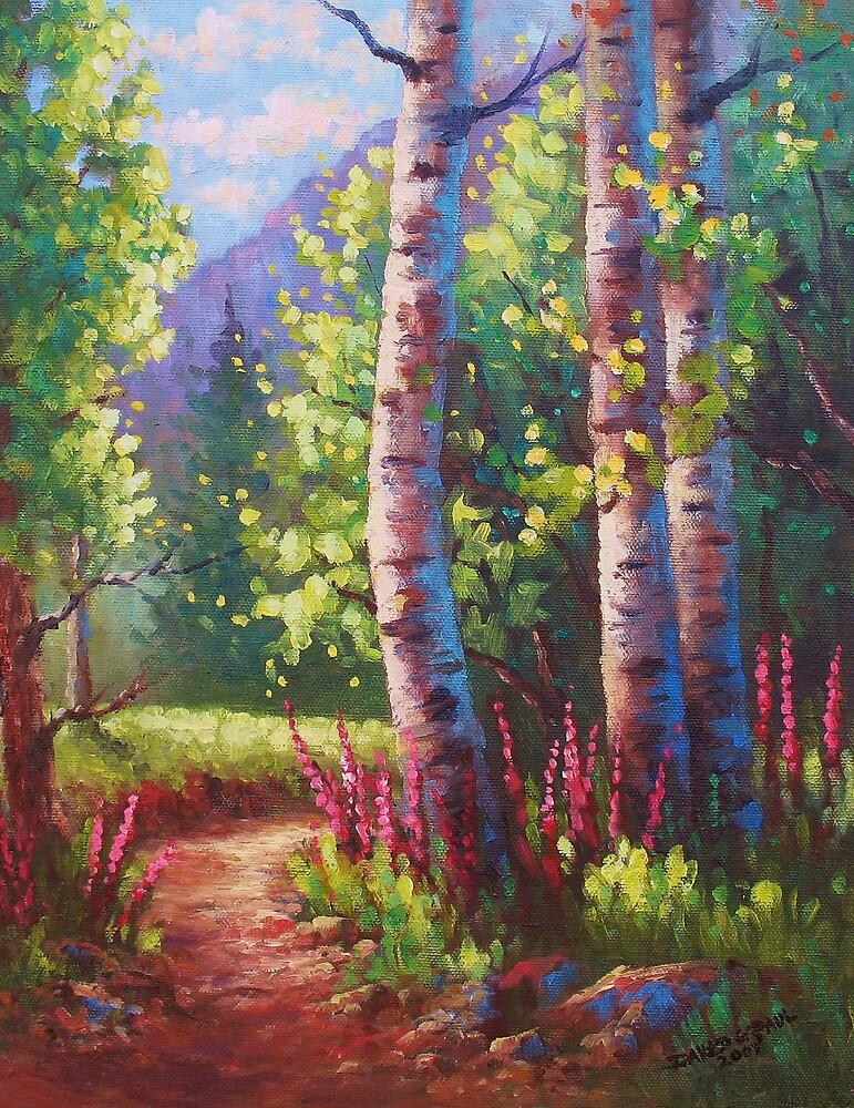 Spring Path by David Paul