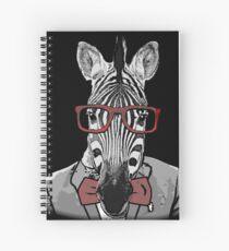 Hipster Zebra Spiralblock