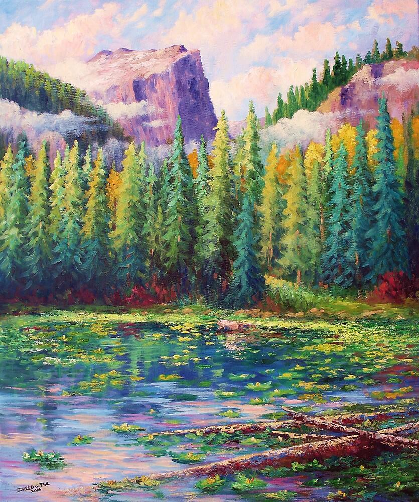 Nymph Lake by David Paul