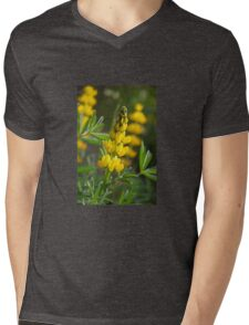 Wild Lupin (Lupinus luteus) Mens V-Neck T-Shirt