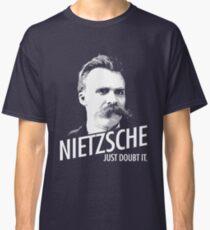 Camiseta clásica Nietzsche SÓLO LO DUDO.