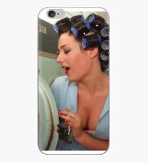 Retro Pin Up - Sparkly Kleen iPhone Case