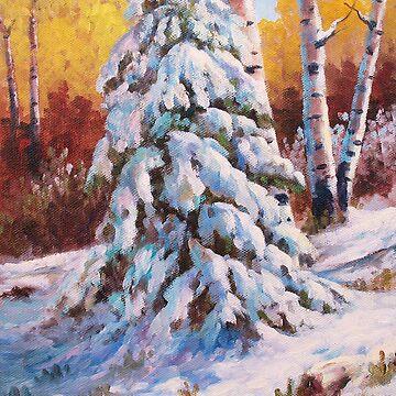 Snow Blanket by dgpaul