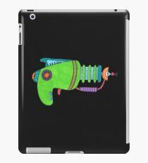 Green Alien Pistol iPad Case/Skin