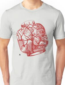 Veins of head (red) T-Shirt