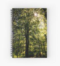 The Dark Woods Spiral Notebook