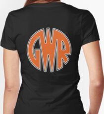 GWR, Great Western Railway, Trains, Rail, LOGO Women's Fitted V-Neck T-Shirt