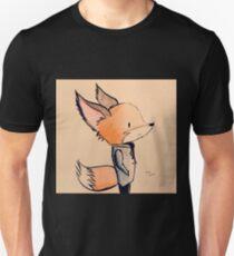 Tuxedo Fox Unisex T-Shirt