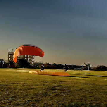 paragliding  by sajshr