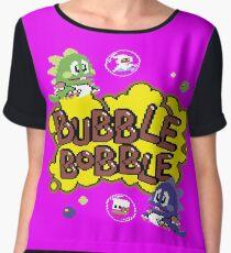 Gaming [C64] - Bubble Bobble Chiffon Top