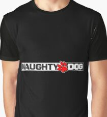 Naughty Dog Merchandise Graphic T-Shirt