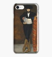 Edouard Manet - Young Man In The Costume Of A Majo iPhone Case/Skin