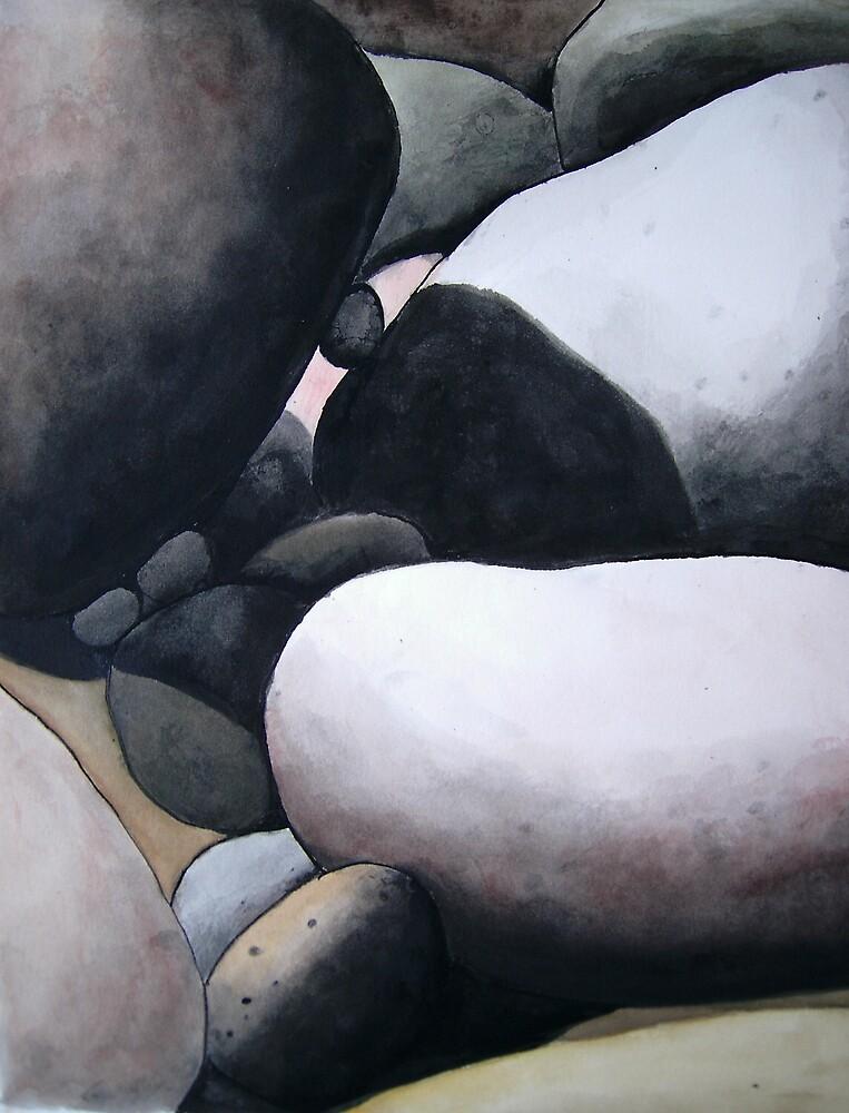 Tidal Rocks. by Bill Proctor