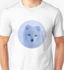 White Snow Fox Softness T-Shirt